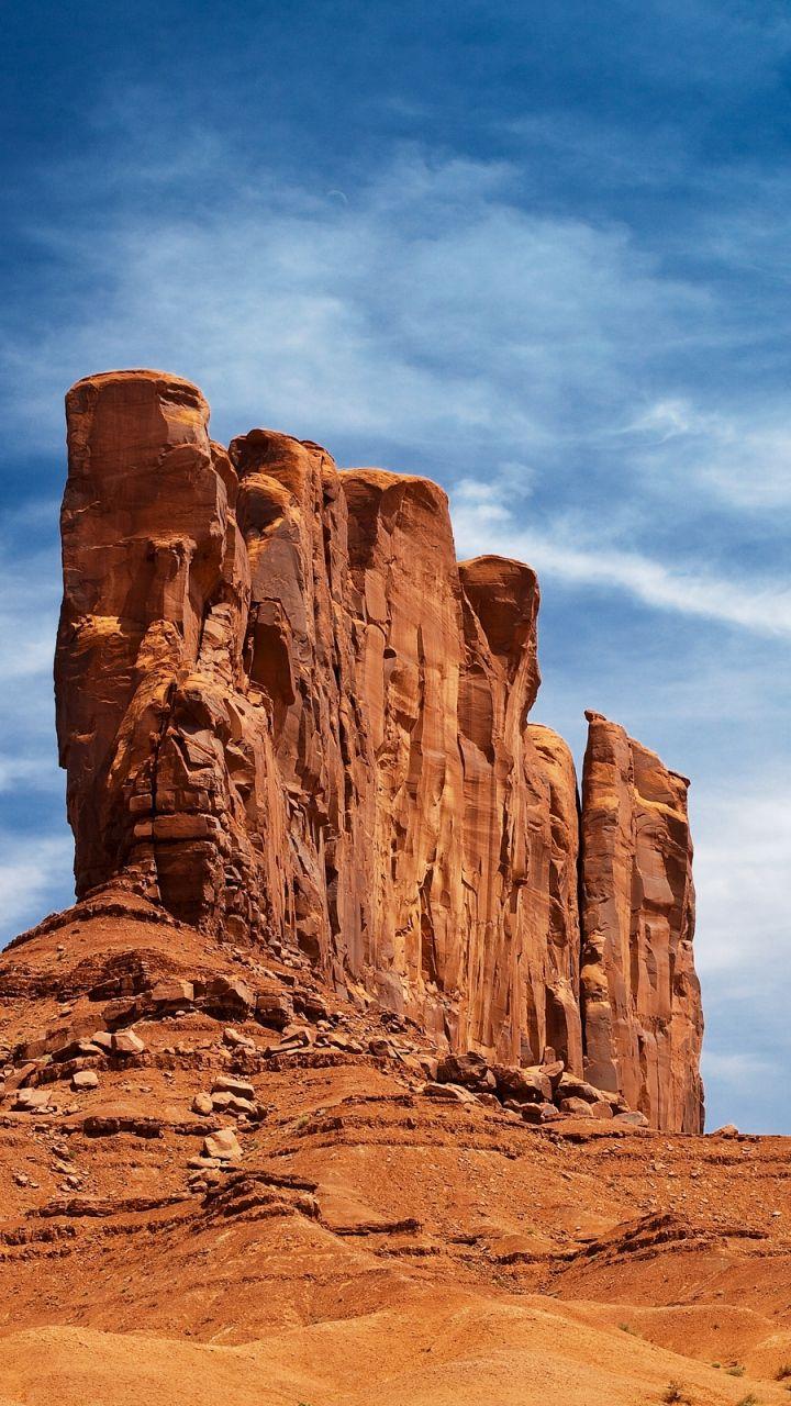 Opdracht Zoogdieren Monument Valley Scenery Scenery Wallpaper