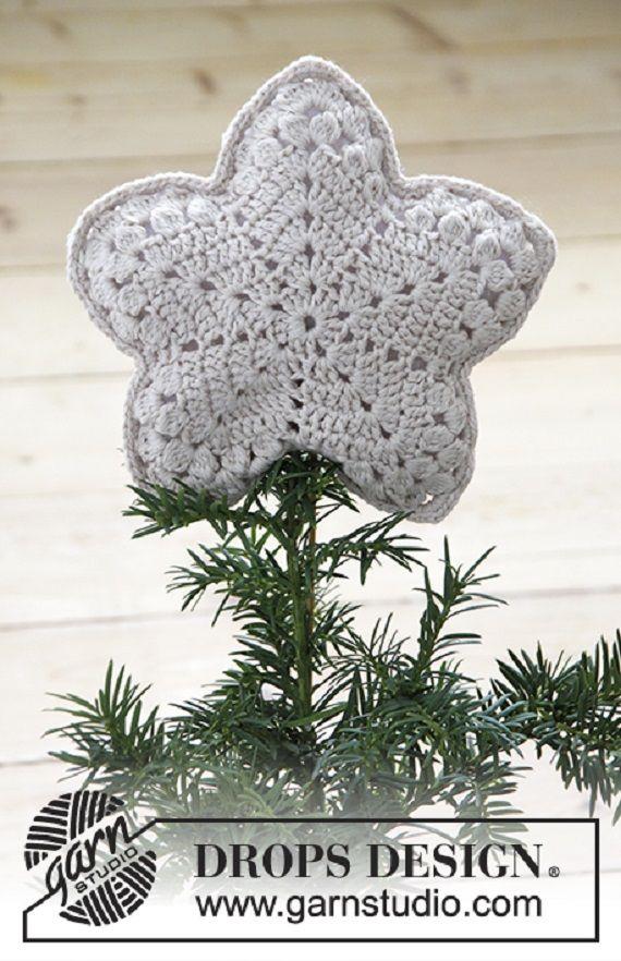 Crochet Star Plush Toys Free Patterns | Navidad, Ganchillo y Manta bebé