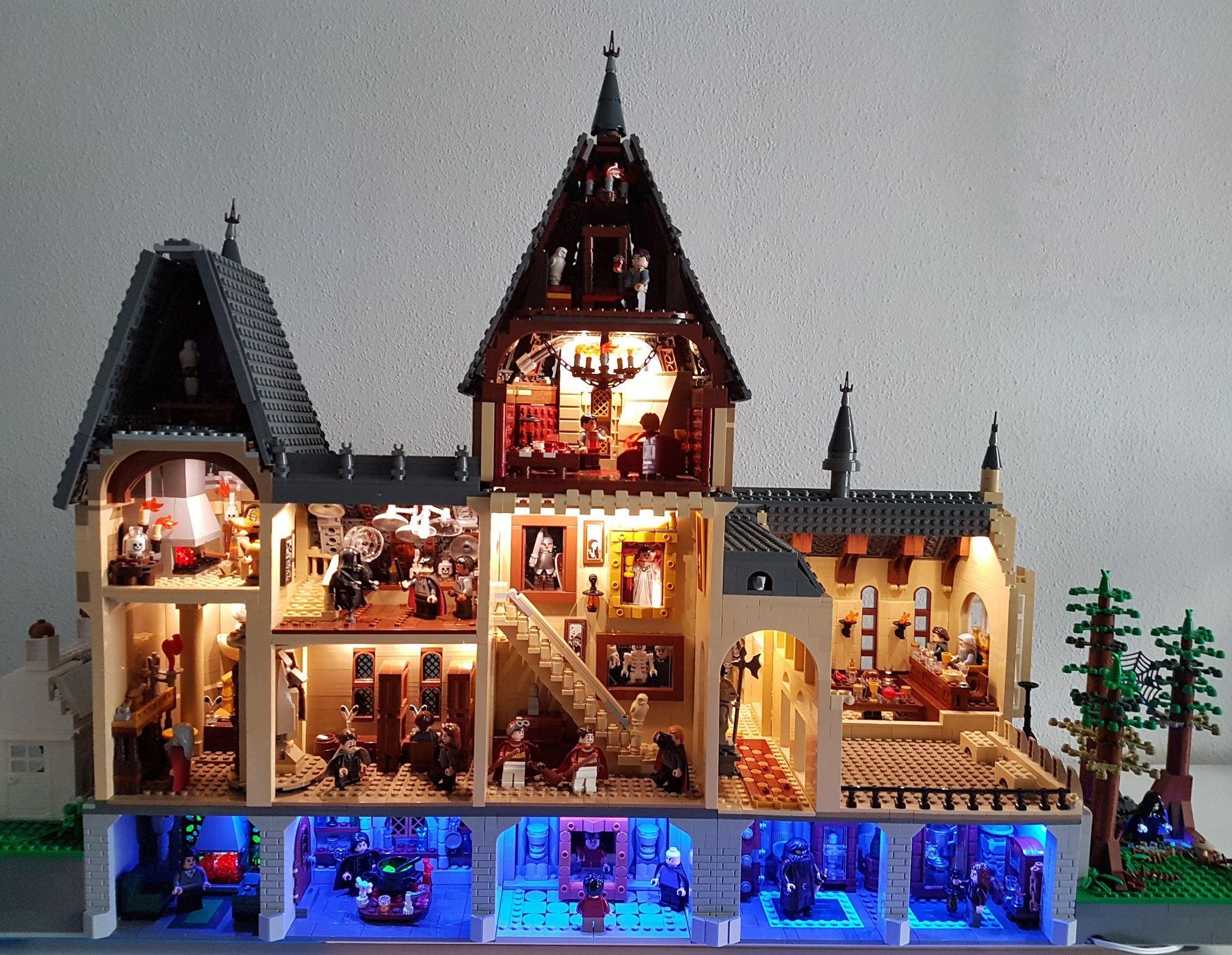 Hogwarts Castle Interior Lego Harry Potter Harry Potter Lego Sets Harry Potter Dolls