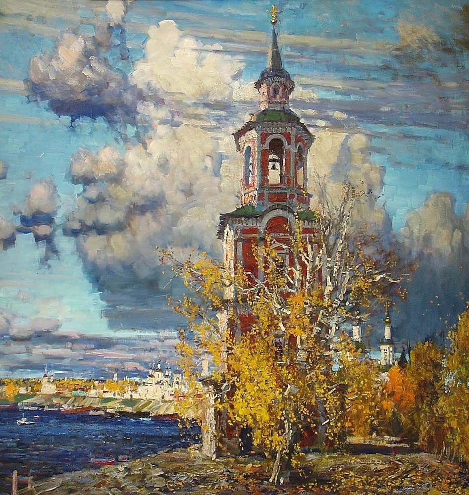 Михаил Абакумов - соловей русского пейзажа