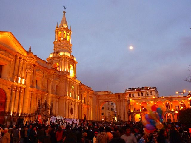 Arequipa Cathedral,Peru- My next dream holiday