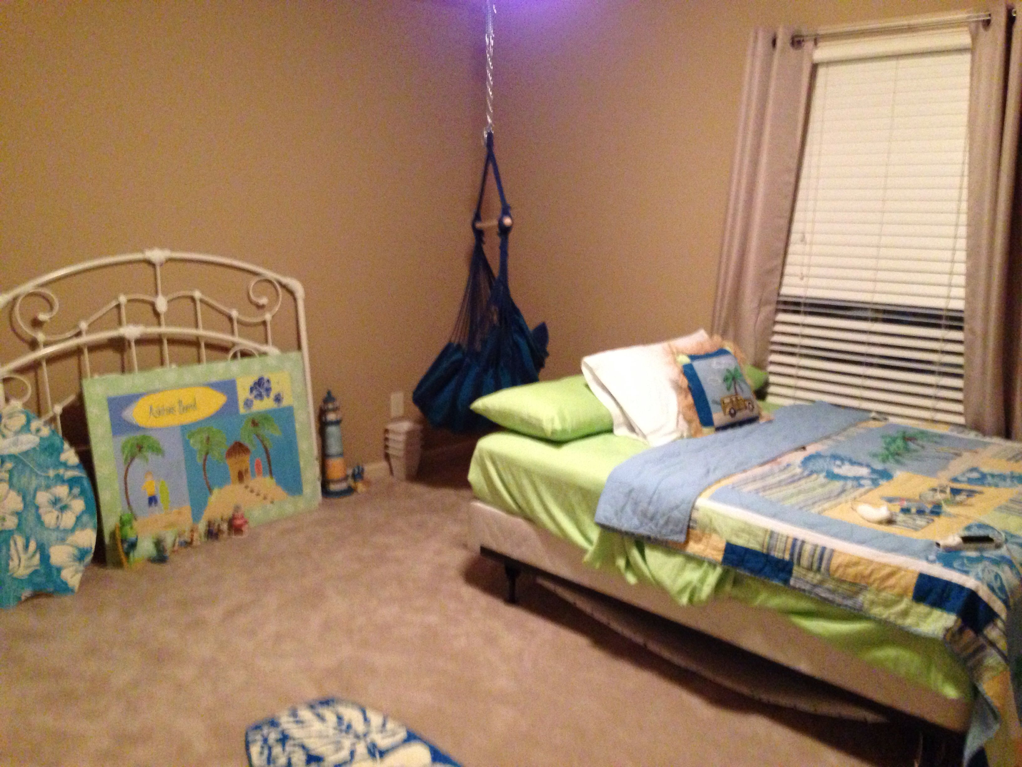 Hammock swing in little boys room kids rooms pinterest hammock