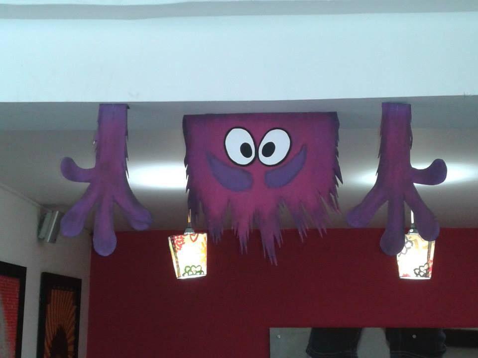 monster university decoration