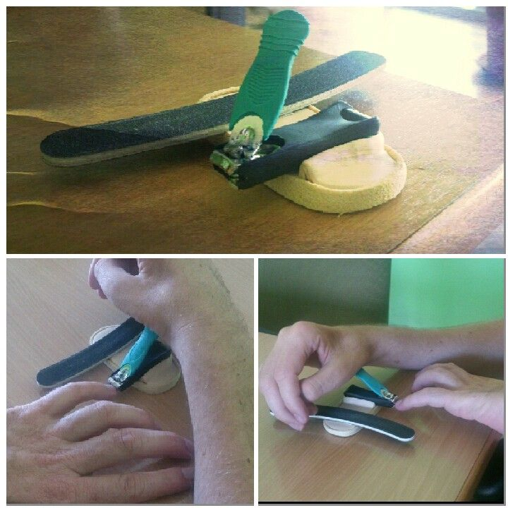 Nail Cutting Device For Sci From Zoja Nesterova Diy