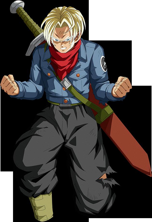 Future Trunks Super Render 3 Dokkan Battle By Maxiuchiha22 On Deviantart Dragon Ball Art Future Trunks Dbz Art