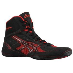 ASICS® Cael V5.0 Men's Wrestling Shoes BlackRed