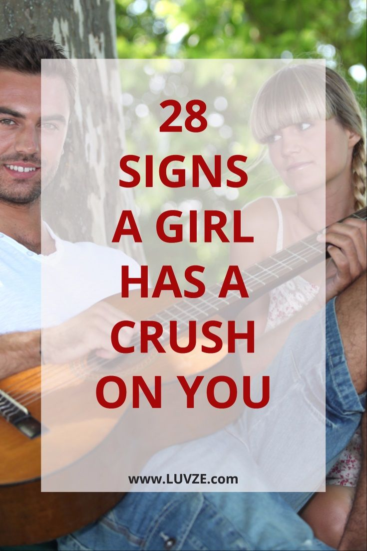 How to know if a girl has a crush on you 28 proven signs