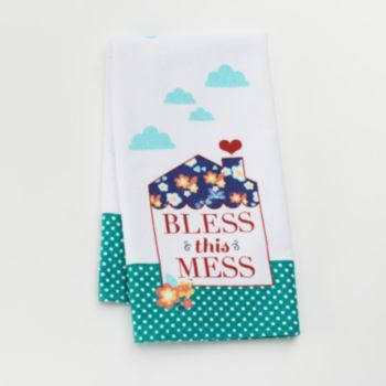Sonoma Goods For Life Bless This House Kitchen Towel