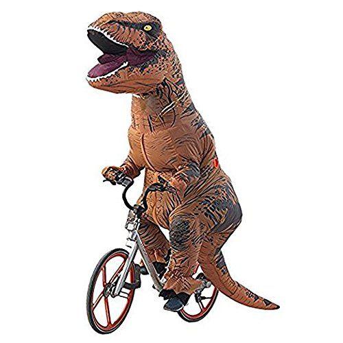 Ohlees Men S T Rex Inflatable Dinosaur Costume Aufblasbare