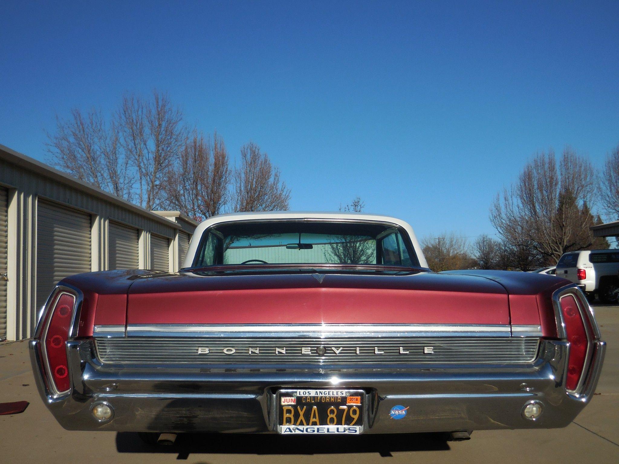 Black-Plate 1964 Pontiac Bonneville 389 Coupe for sale on BaT ...