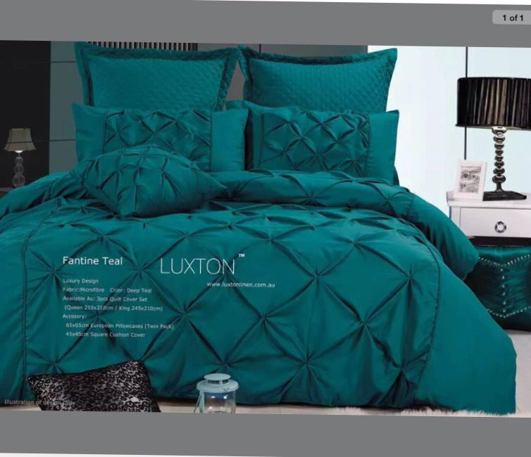 Gorgeous Bedspread Quilt Cover Sets Bed Linen Sets Teal Bedding