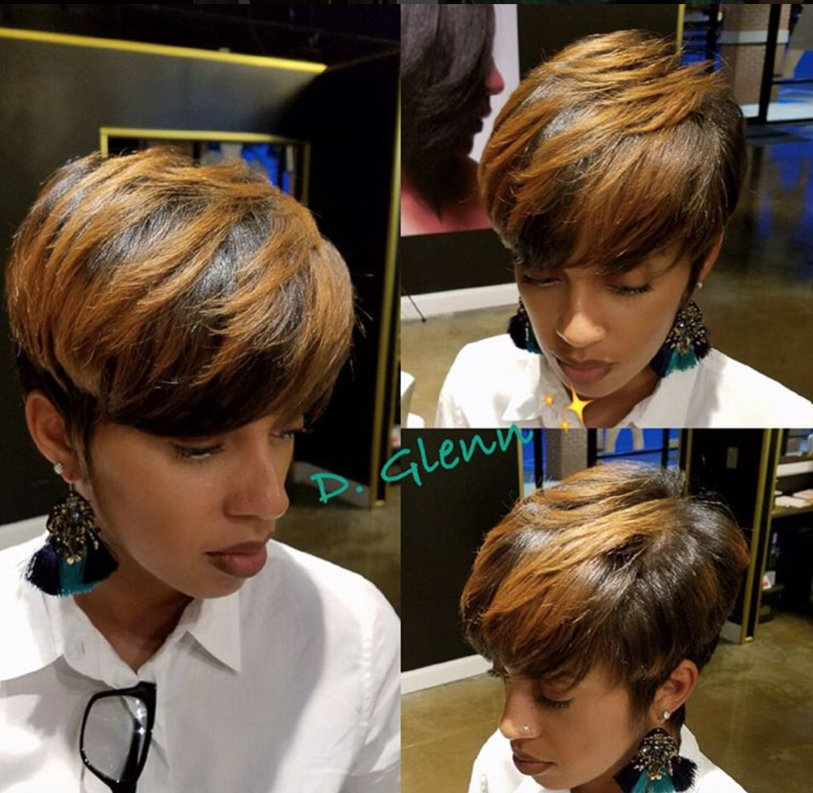 Nice summer cut and color by iamdeangeloyglenn community