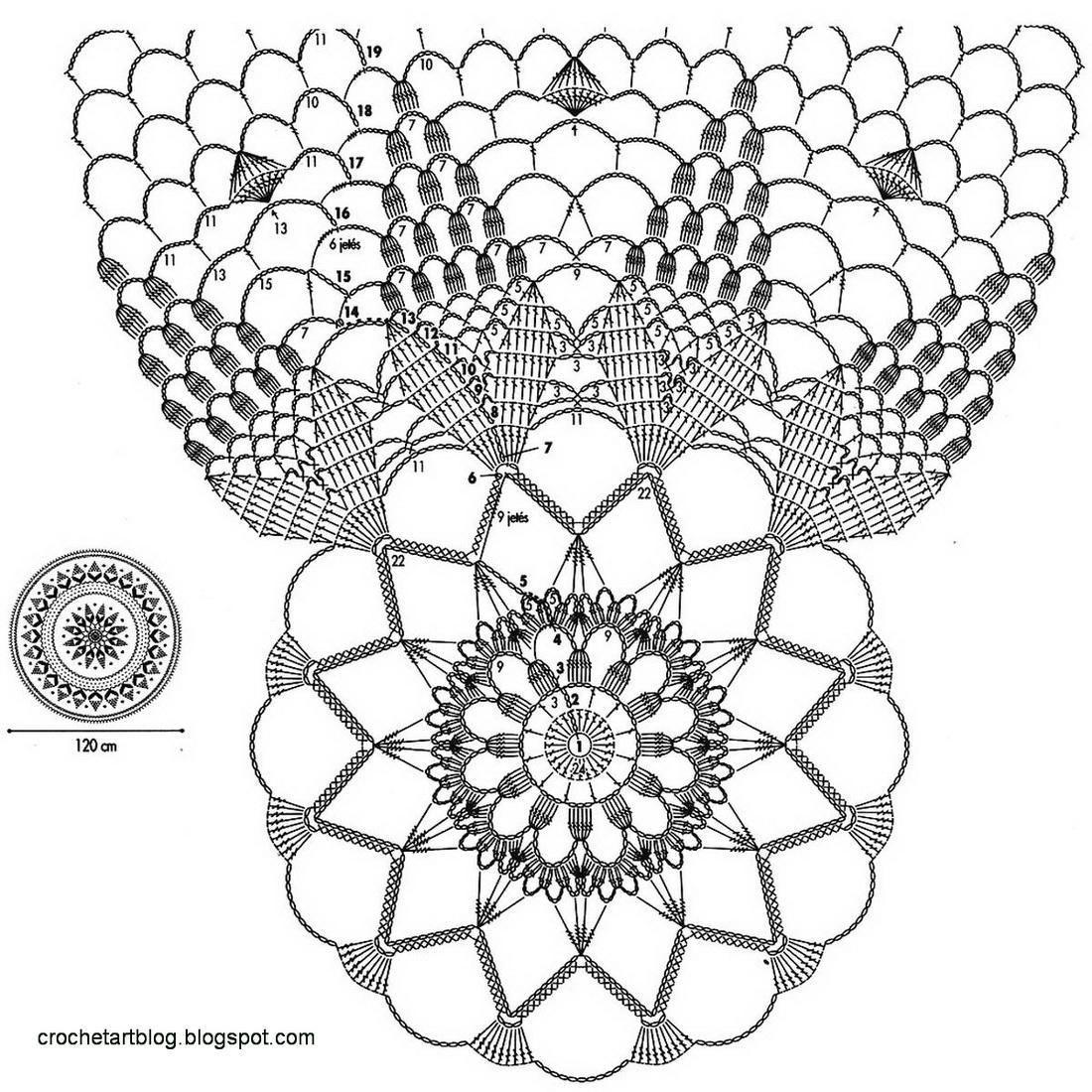 Pin By Weyshanurz On Carpetas Y Manteles A Crochet