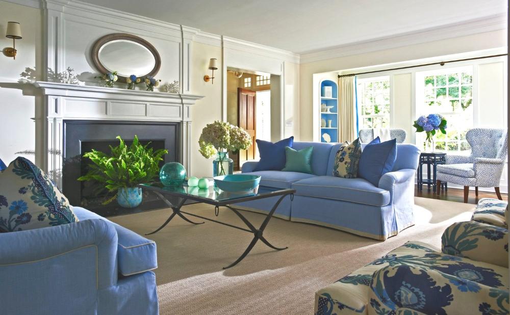 Best Timless Blue And White — Lynn Morgan Design In 2020 Blue 400 x 300