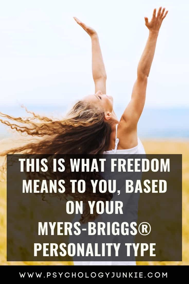 This is What Freedom Means to You, Based on Your P