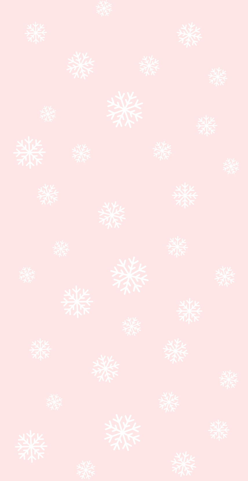 Snowflakes pink phone wallpaper