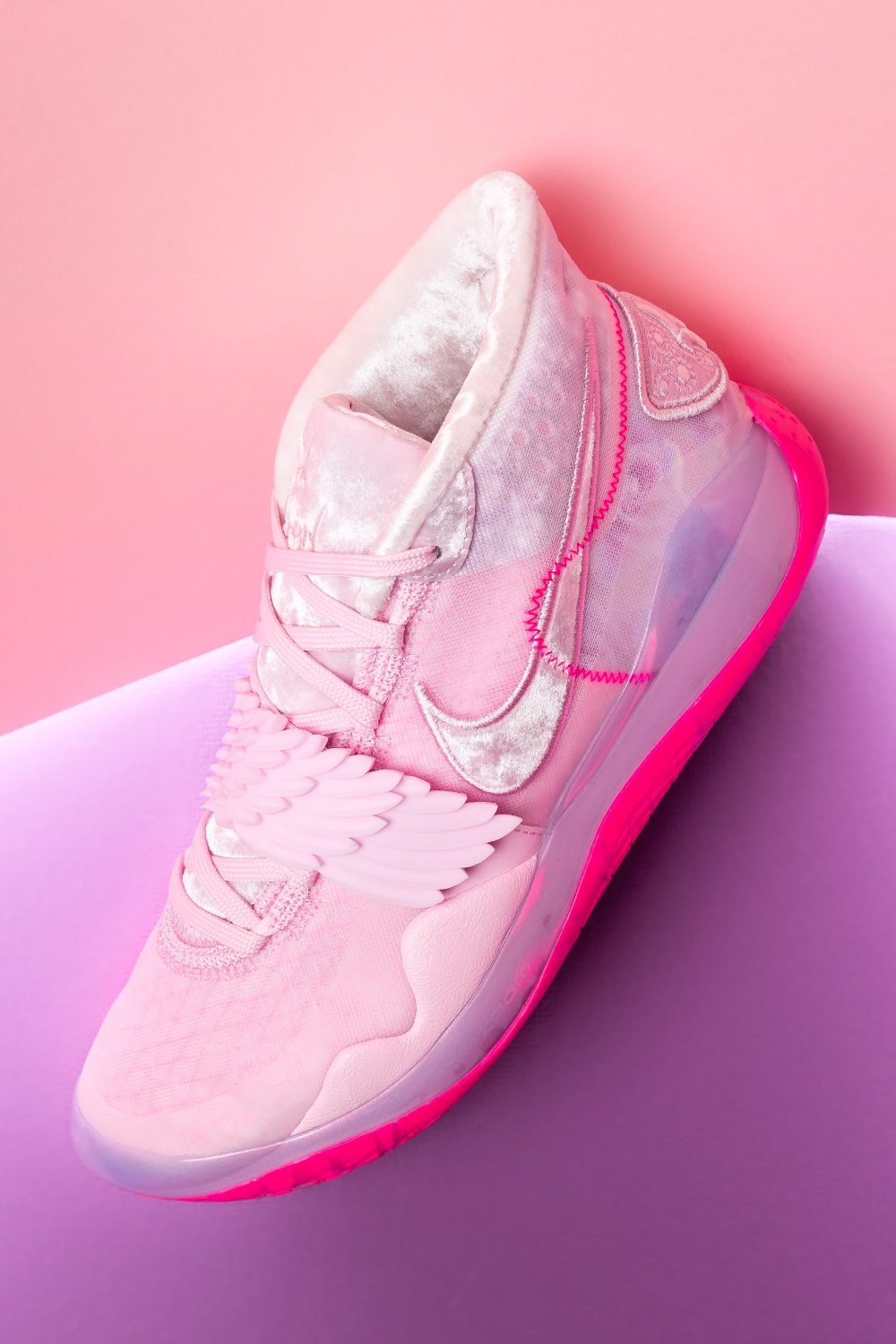 all pink nike basketball shoes