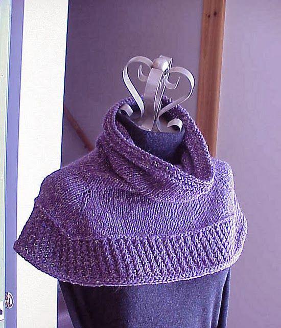 Kriskrafter Free Knitting Pattern Soft Shoulder Cowl Knitting