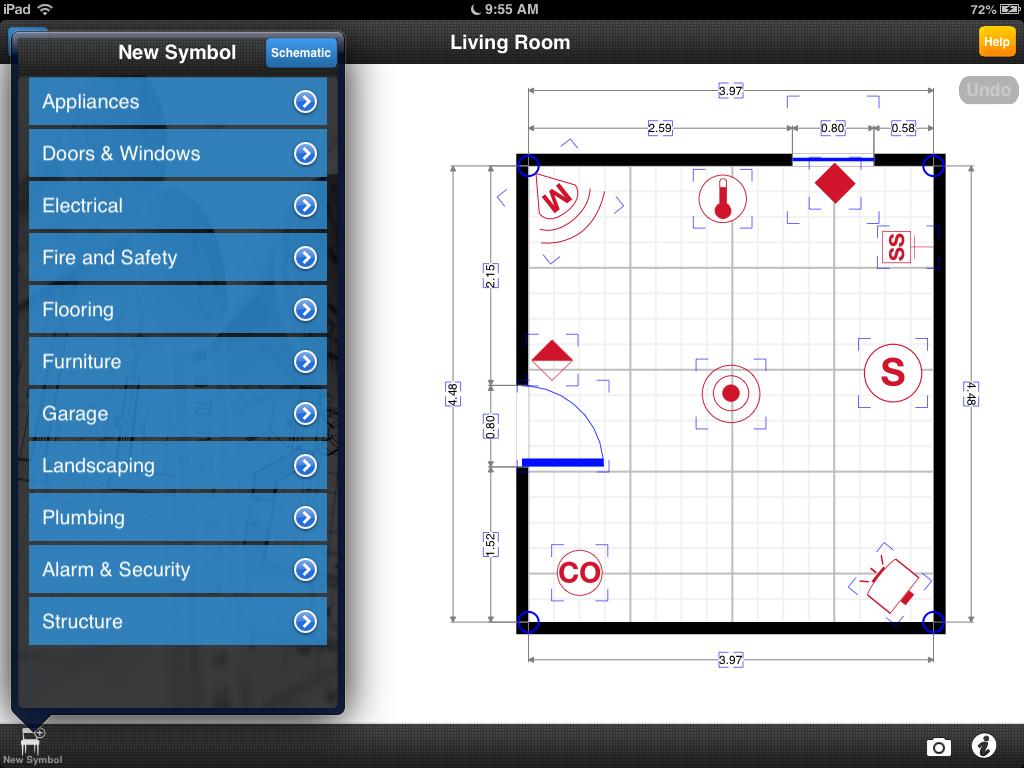 magicplanapp Room layout app, Room layout design, Room