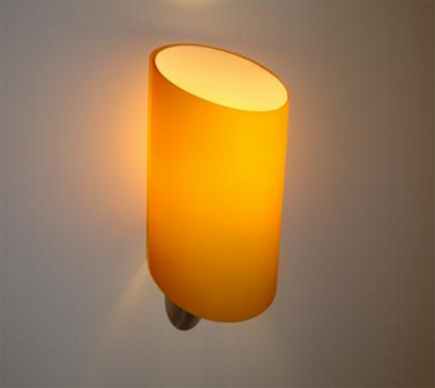 AZzardo Rosa Orange - Vägglampa