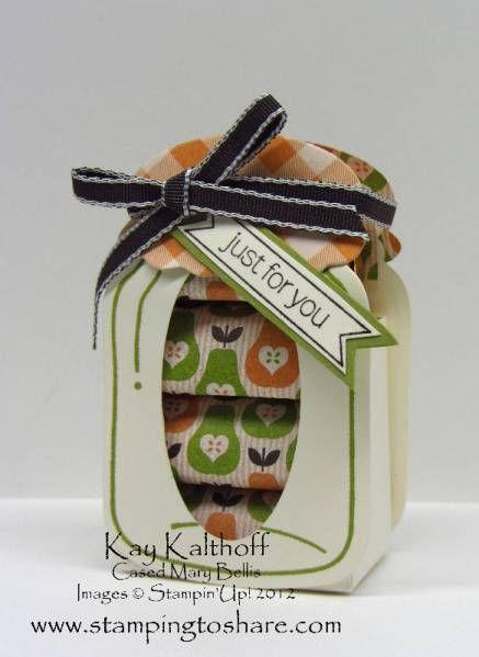 Perfectly Preserved Nugget Jar by Speedystamper - Cards and Paper Crafts at Splitcoaststampers