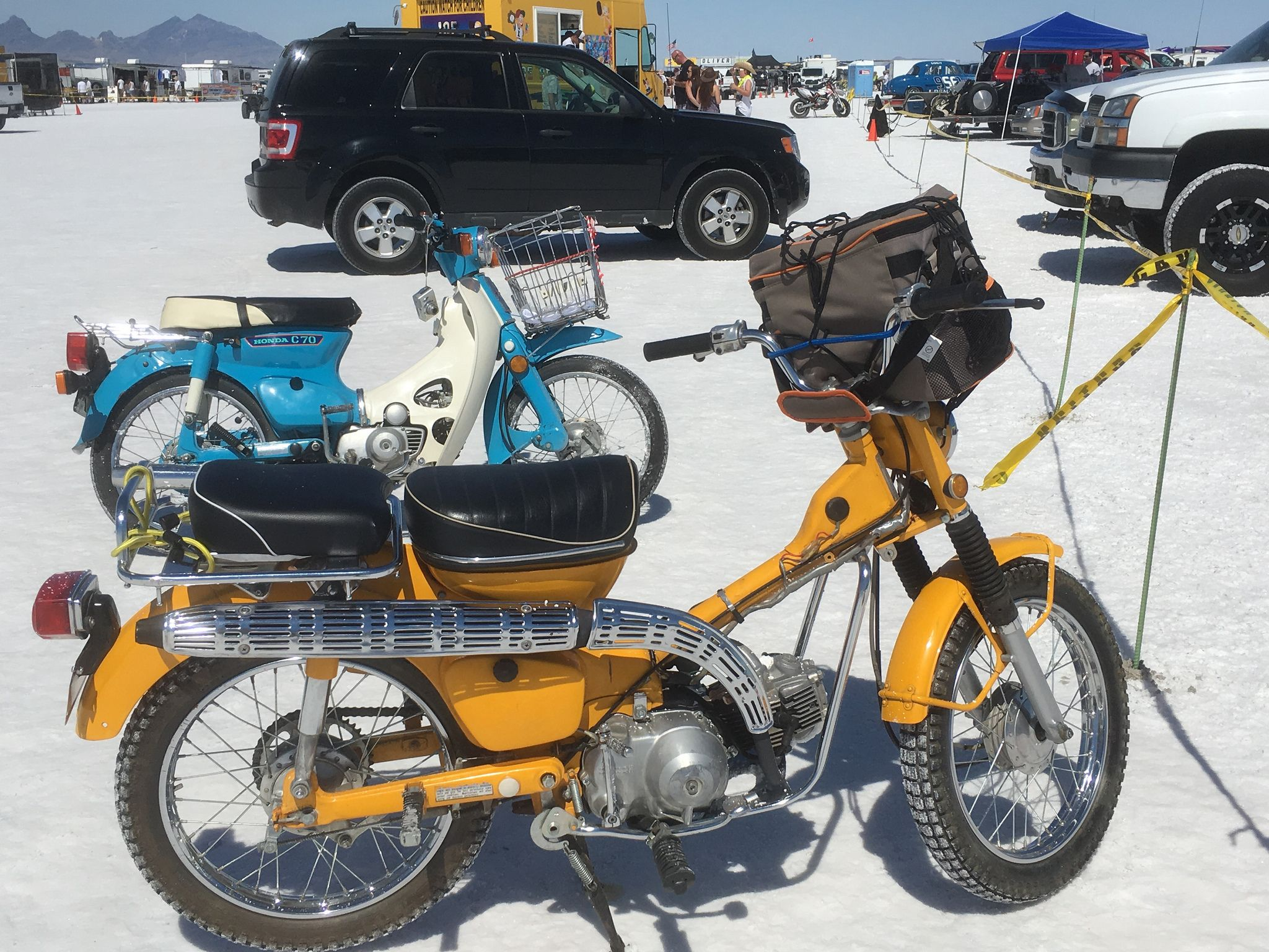 1978 Honda 50cc Dirt Bike Pit Trail Bonneville Speed Week 2048x1536