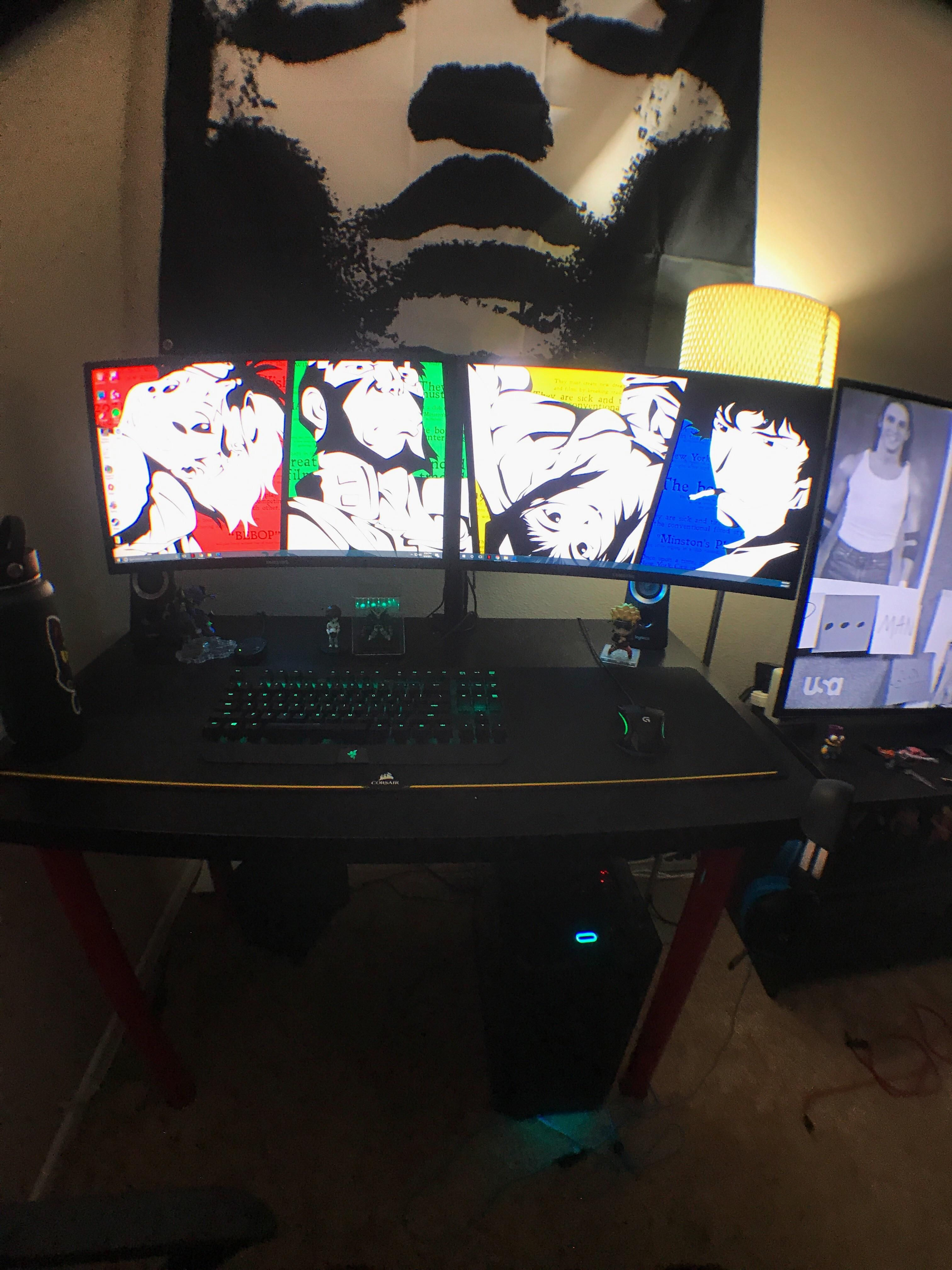 final standing desk for now imgur album management gallery cable on layout