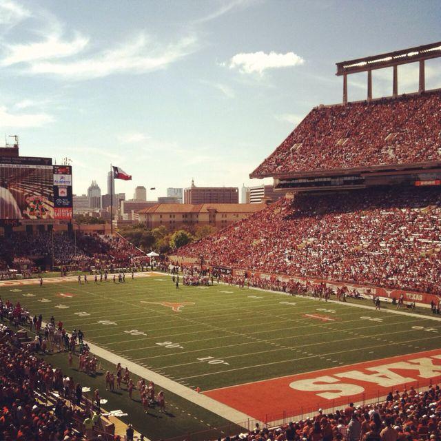 Darrell K Royal Texas Memorial Stadium Ut Austin Utaustin The