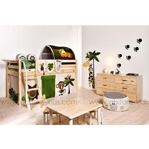 Jungle by flexa ensemble de rideaux pour lit 29145713 for Ensemble chambre garcon