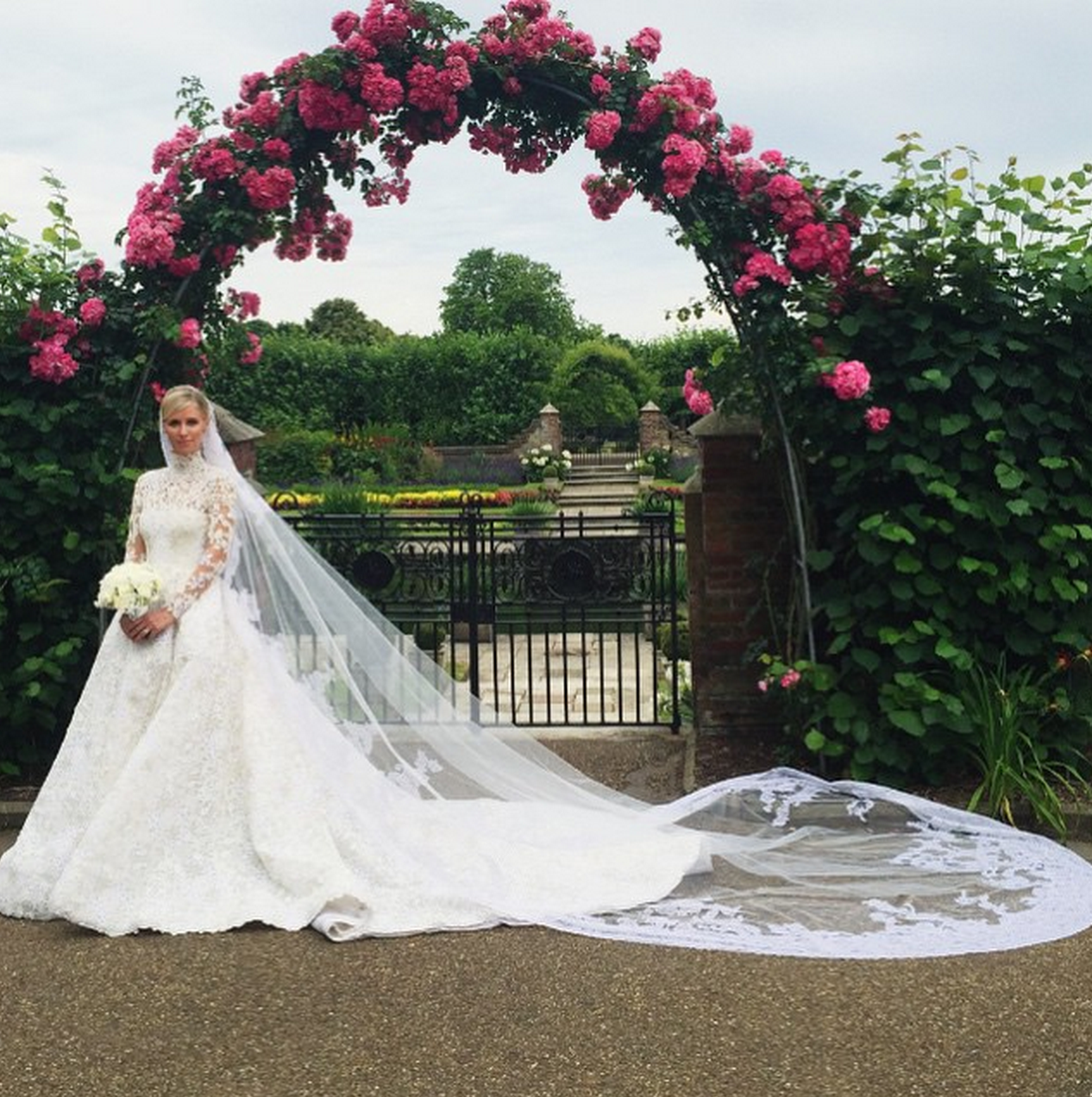 Valentino wedding dress  Nicky Hilton wearing Valentino Couture  Dream of the day