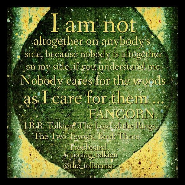 I Am Not Altogether On Anybody S Side Because Nobody Is