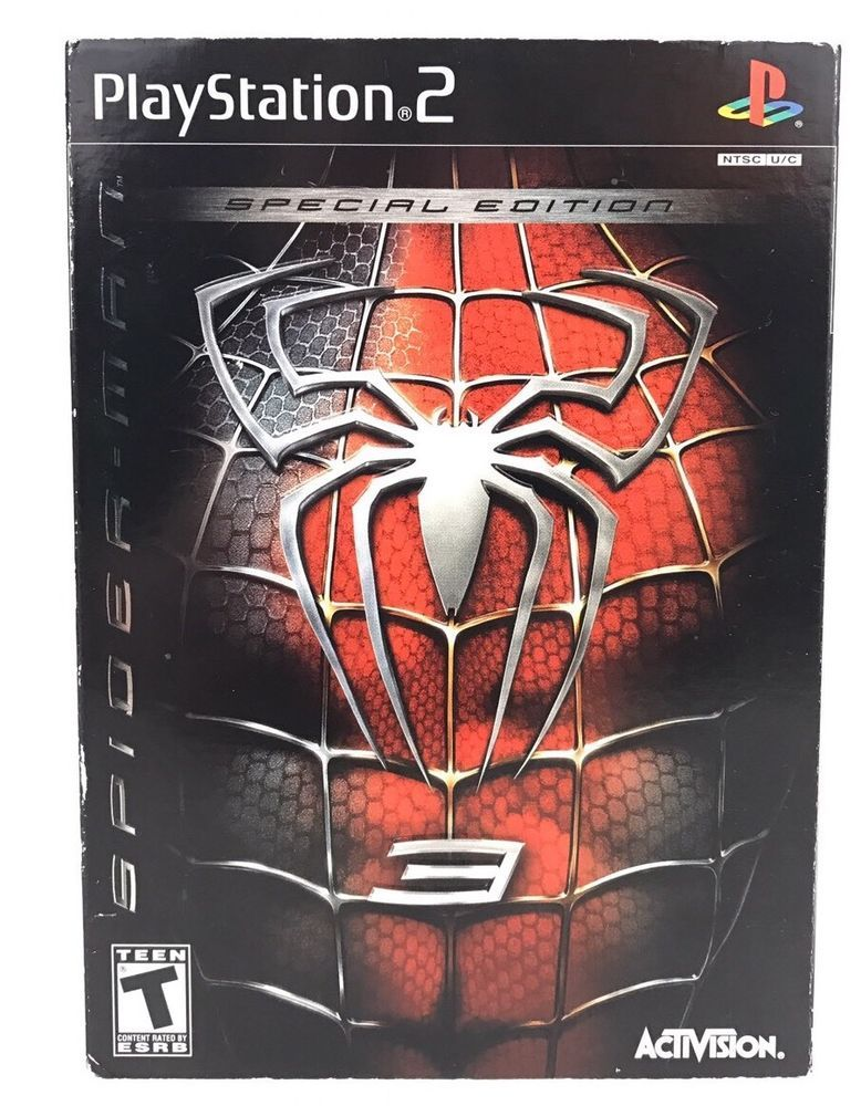 spiderman 3 game for playstation 2