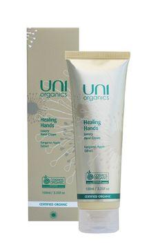 Uni Organics Healing Hands Luxury Hand Cream 100ml Luxury Hand