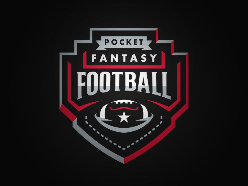 Football Sports Logo Design Football Logo Design Fantasy Football Logos