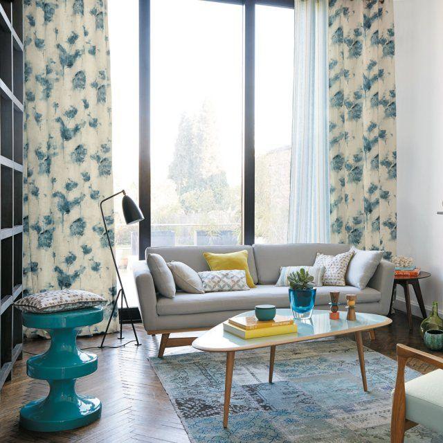rideau design les derni res nouveaut s pour habiller ses fen tres avec l gance mid century. Black Bedroom Furniture Sets. Home Design Ideas