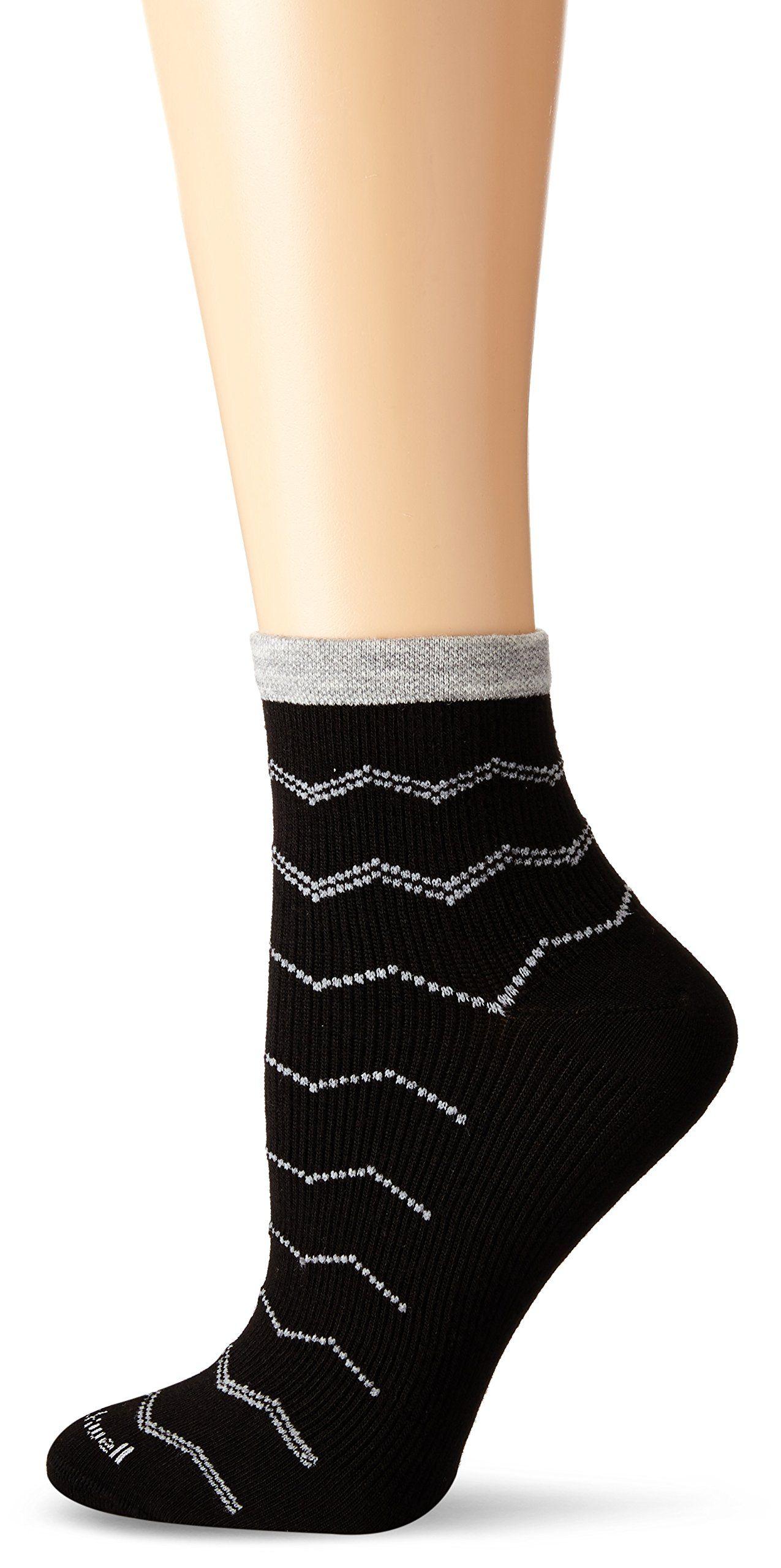f0cf1e9de8 Sockwell Women's Plantar Ease Firm Compression Socks, Black, Medium/Large.  Super fine