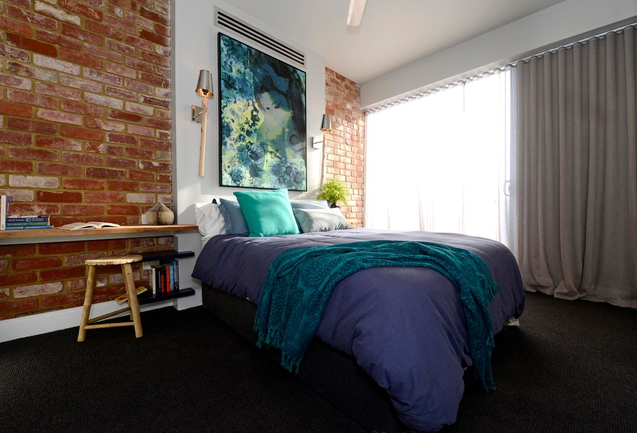 Get the look Last night's Block guest bedroom reveals is part of bedroom Window Dressing - How impressive were last night's guest bedroom reveals on The Block ! I actually really liked all the rooms and wouldn't have liked to have had to pick the winner  But…