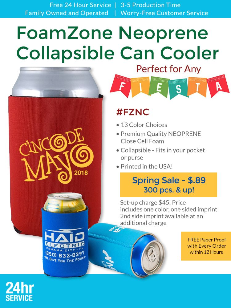 Can Coolers From Leprechaun Promotions With Images Canning Closed Cell Foam Cooler