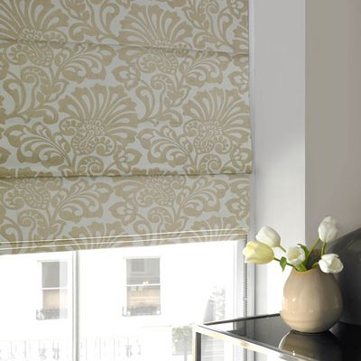 Tudor Roman Blind Cream | Made to Measure Blinds at Terrys ...