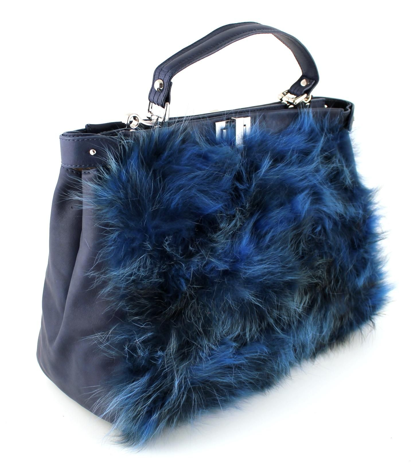 2013-2014 Autumn Winter Collection Leather Handbag Tote with Fur