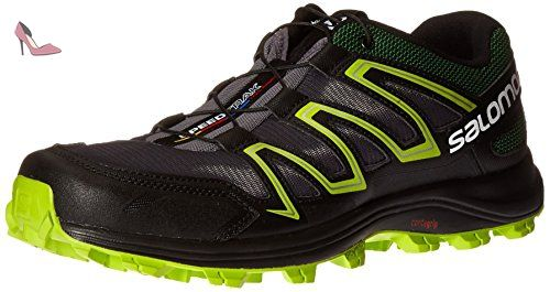 Salomon Speedtrak Chaussure Course Trial AW16, Black, 48,0