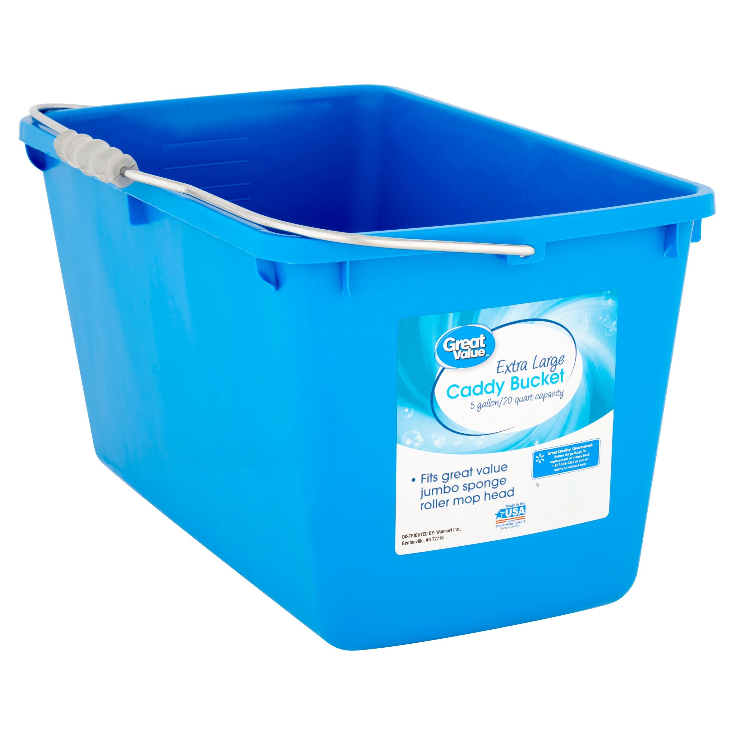 Free 2 Day Shipping Buy Great Value 5 Gallon Extra Large Caddy Bucket At Walmart Com In 2020 Caddy Extra Large Sponge Rollers