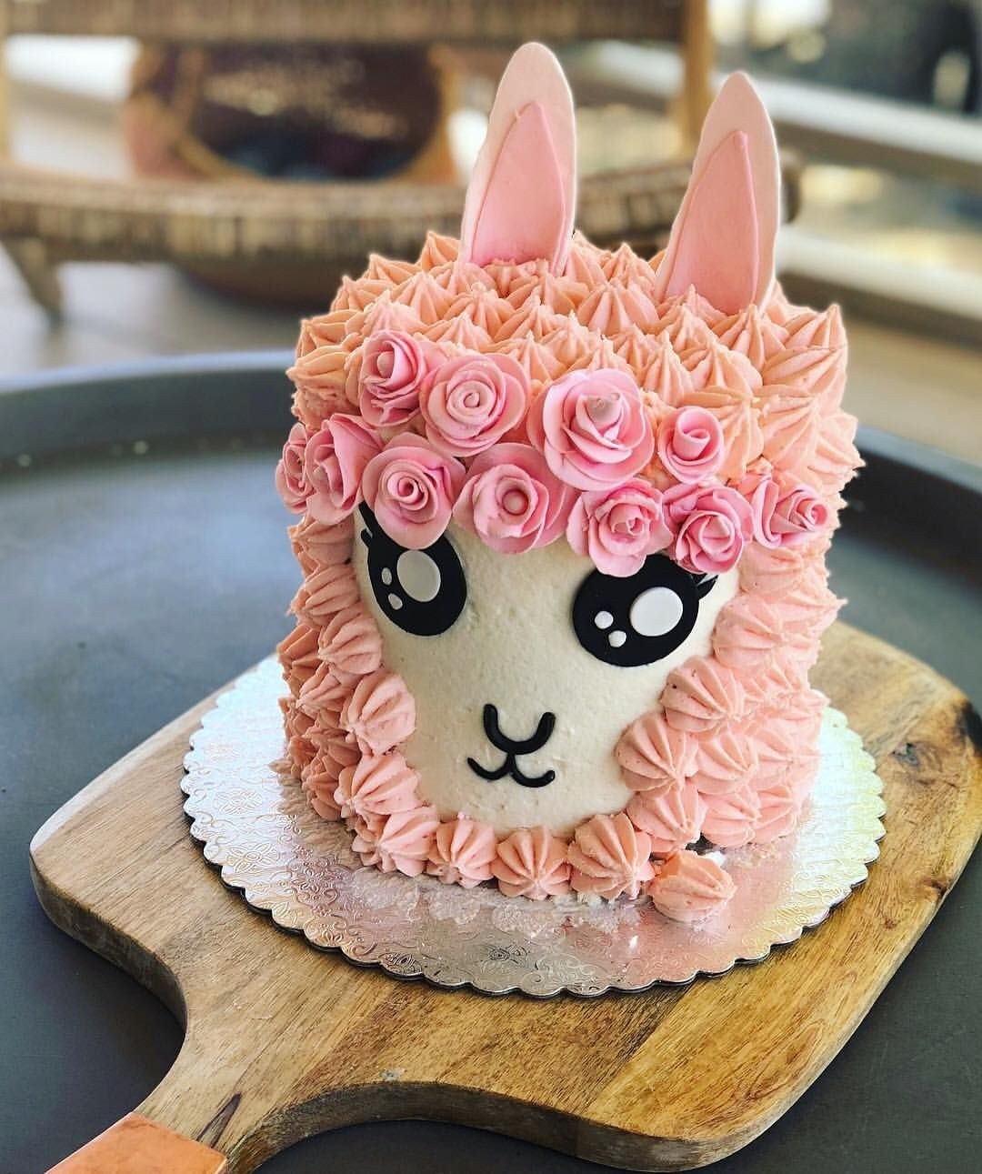 Lama Or Alpaca I Wonder What S Next To Order Your Next Celebration Cake Click The Link In Our Profile And Fil Cute Birthday Cakes Cake 40th Birthday Cakes