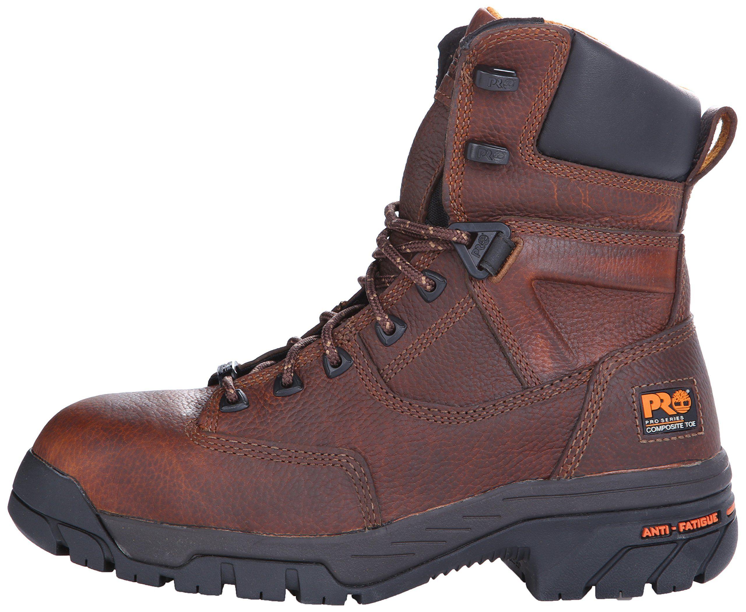 Boots 8In Waterprf Steel Toe PR 10.5M