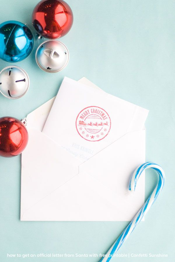 How to get an Official Letter from Santa Best Parties on - official letter
