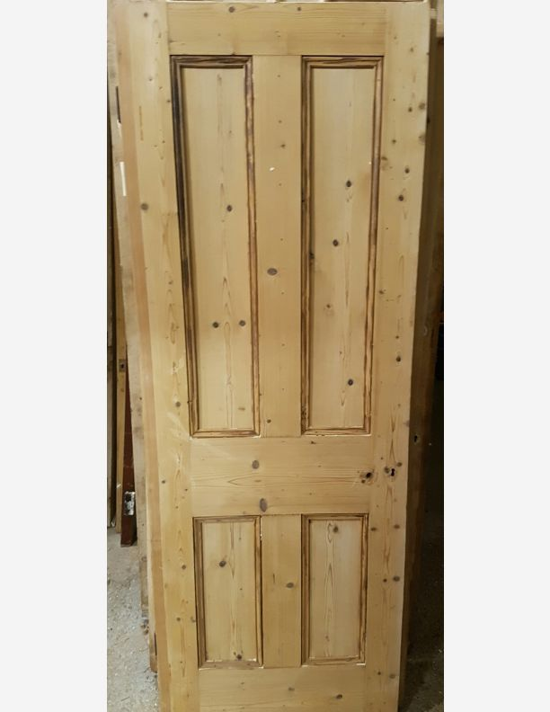1195 - Victorian stripped pine door 77 3/8 x 27 & 1195 - Victorian stripped pine door 77 3/8 x 27 | Historic doors ... pezcame.com