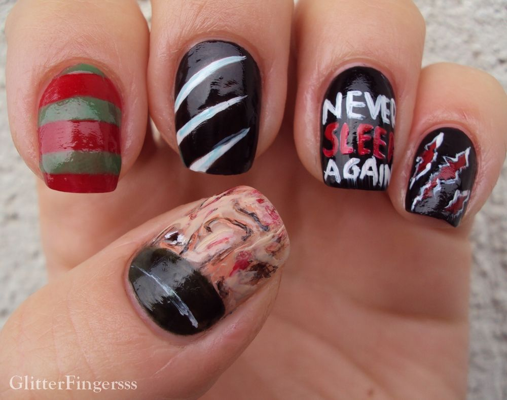 halloween #nail #nails #nailart **FREDDY** | NAILS!!!!! | Pinterest ...