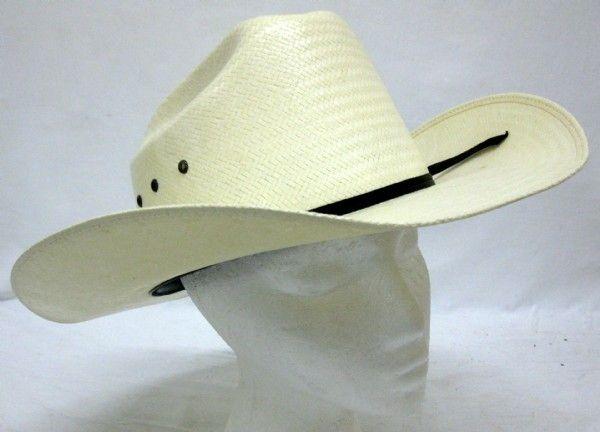 8a062f4d39557 shopgoodwill.com  Eddy Bros. Straw Cowboy Hat Size 7 1 2