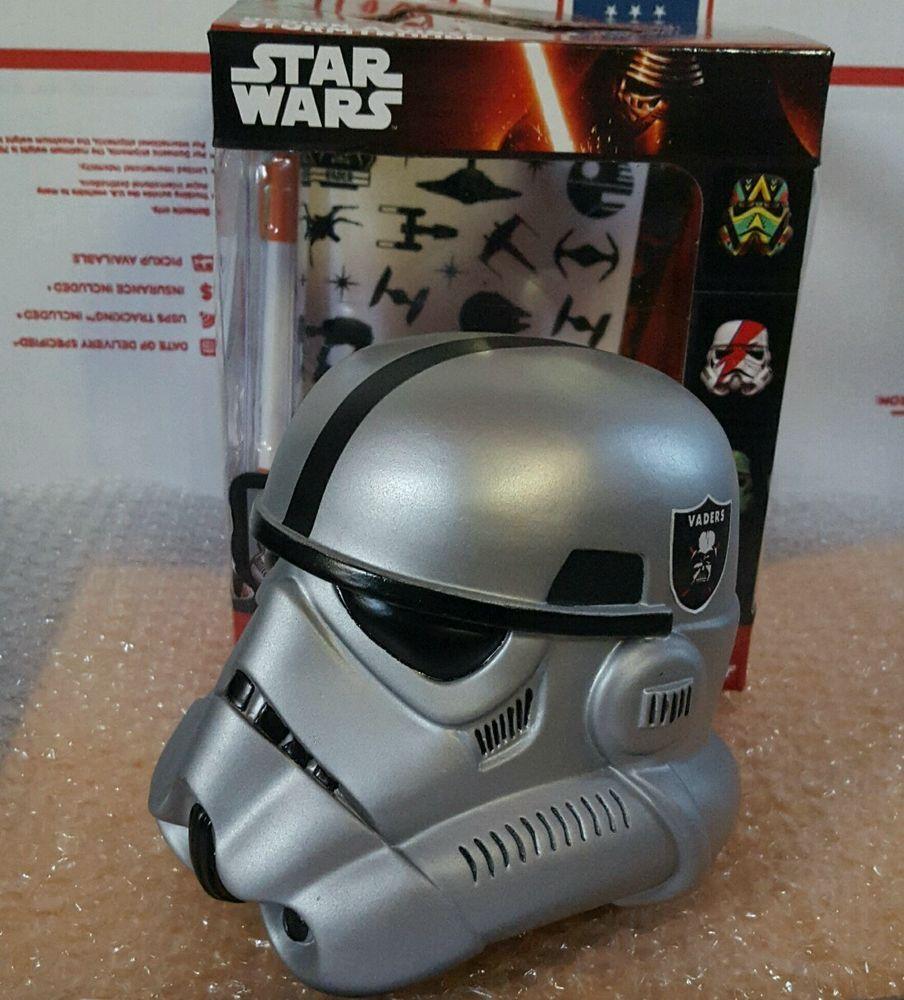 From 3999 Starwars Design A Vinyl Stormtrooper Helmet Custom