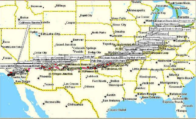 Route BUCKET LIST Pinterest Route And Buckets - Original route 66 map